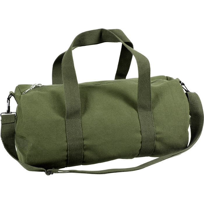 Olive Drab - Military Heavy Duty Medium Shoulder Bag