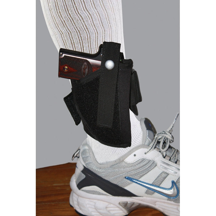 Black - Concealed Ankle Holster