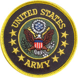 UNITED STATES ARMY Sew On Patch with Emblem