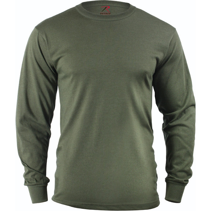 Olive Drab - Military Long Sleeve T-Shirt