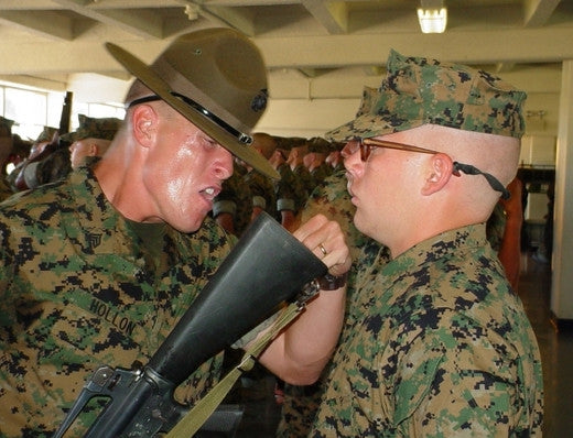 Drill instructor campaign cover