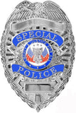 Deluxe Silver - Public Safety SPECIAL POLICE Badge