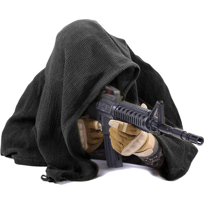 Black - Tactical Sniper Veil