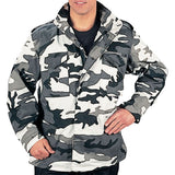 City Camouflage - Military M-65 Field Jacket