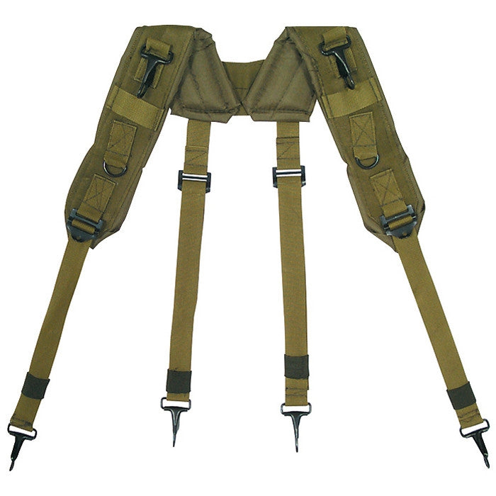 Olive Drab Mil Spec H Type Lc 1 Suspenders Army Navy Store