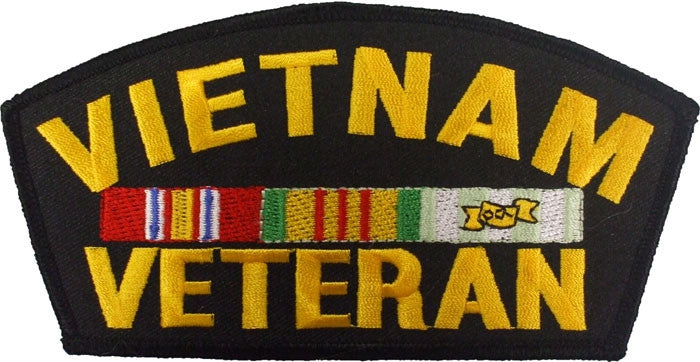 VIETNAM VETERAN Sew On Patch