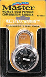 Master Lock Stainless Steel Combination Padlock