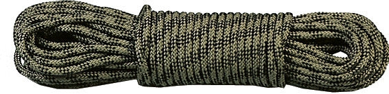 Woodland Camouflage - General Purpose Utility Rope 100' - Polypropylene USA Made