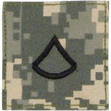 ACU Digital Camouflage - Military Private 1st Class Insignia Patch PFC