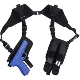 Black - Ambidextrous Shoulder Holster