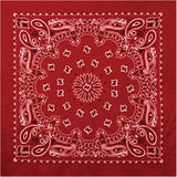 Red - Trainmen Bandana 22 in. x 22 in.