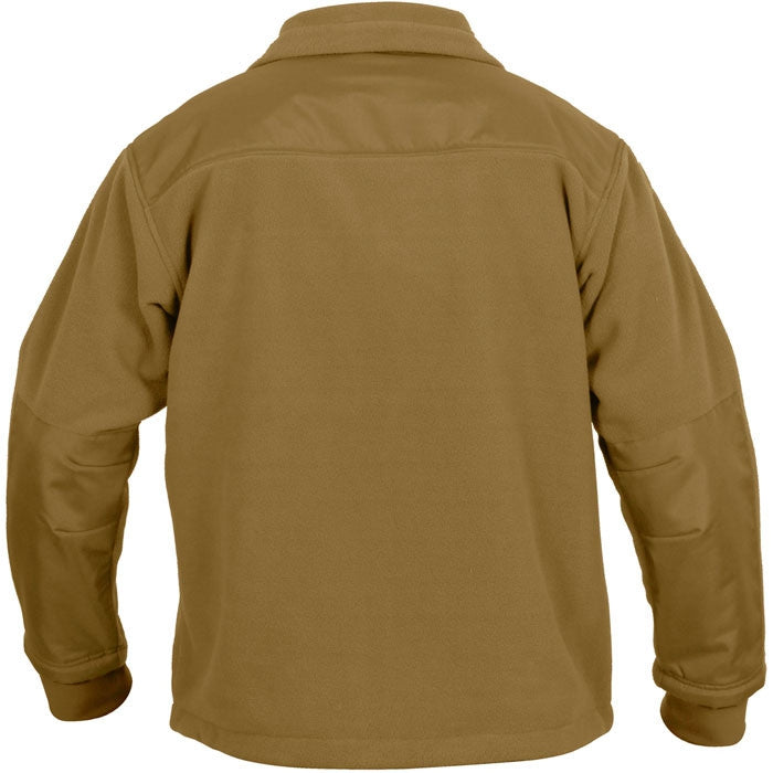 Coyote Brown - Tactical Special Operations Fleece Jacket