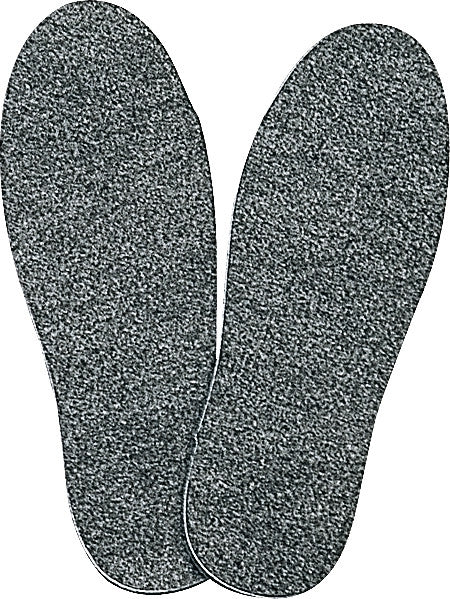 Grey - Cold Weather Heavyweight Warm Insoles - Wool