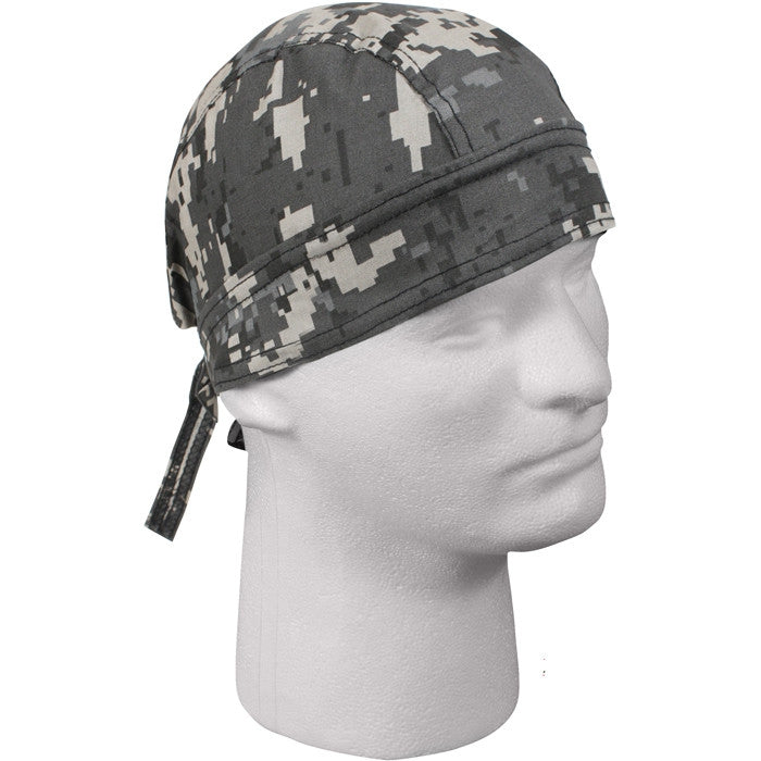 Subdued Urban Digital Camouflage - Military Headwrap
