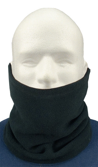 Black - Polar Fleece Cold Weather Neck Warmer