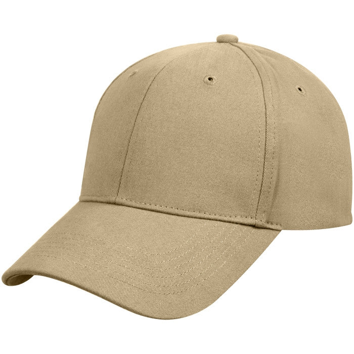 Khaki - Military Low Profile Adjustable Cap
