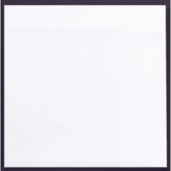 White - Jumbo Solid Color Bandana 27 in. x 27 in.