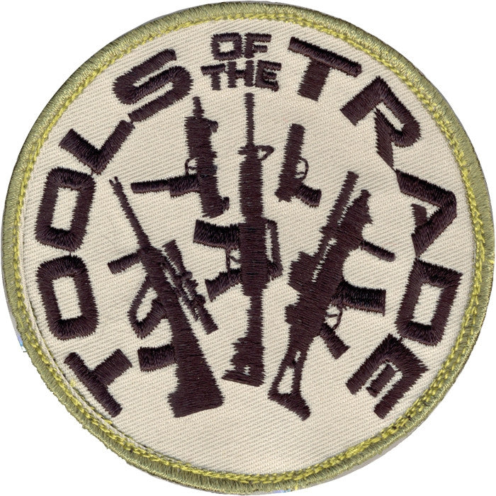 Tools Of The Trade Gun Patch with Hook Back
