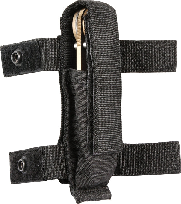 Black - MOLLE Compatible Adjustable Knife Sheath