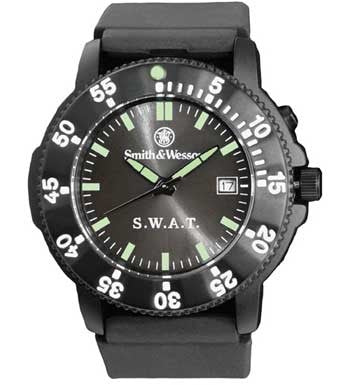 Smith & Wesson Black - Public Safety SWAT Watch