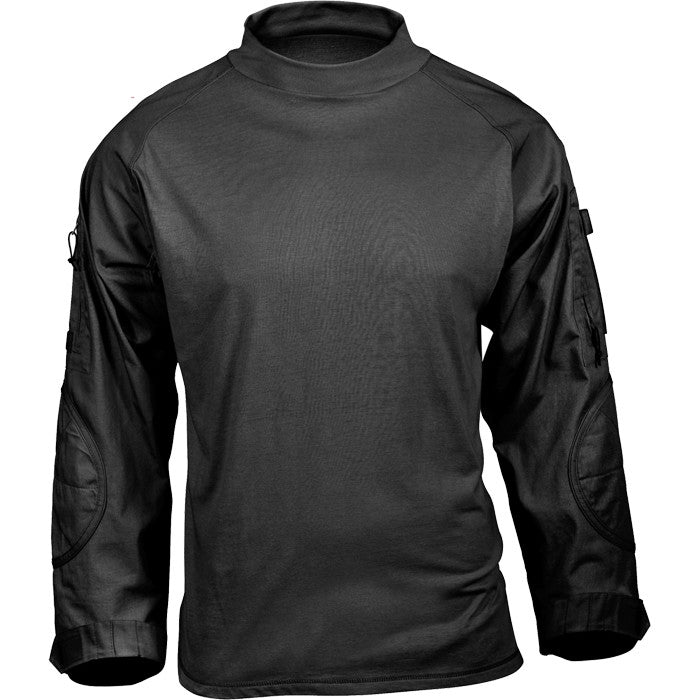 Black - Tactical Airsoft Lightweight Combat Shirt