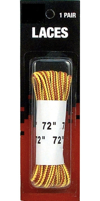 Tan - Work Boot Laces 1 Pair - Nylon 72 in. - USA Made