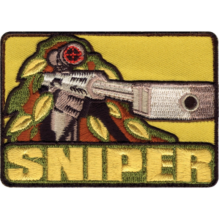 Sniper Patch with Hook Back