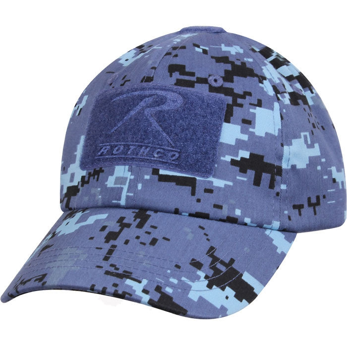 Digital Sky Blue Camouflage - Military Adjustable Tactical Operator Cap