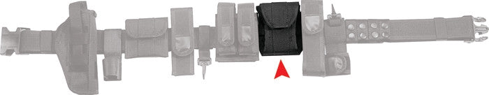 Black - Police Tactical Handcuff Case