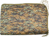 Digital Woodland Camouflage - Military GI Style Poncho Liner