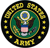 UNITED STATES ARMY Decal with Emblem