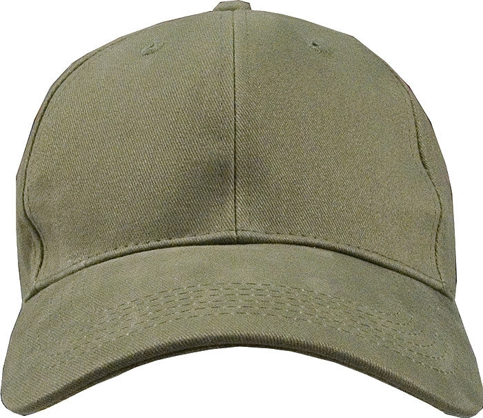 Olive Drab - Military Low Profile Adjustabe Baseball Cap