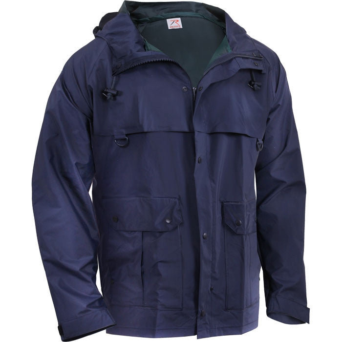 Navy Blue - Microlite Rain Jacket