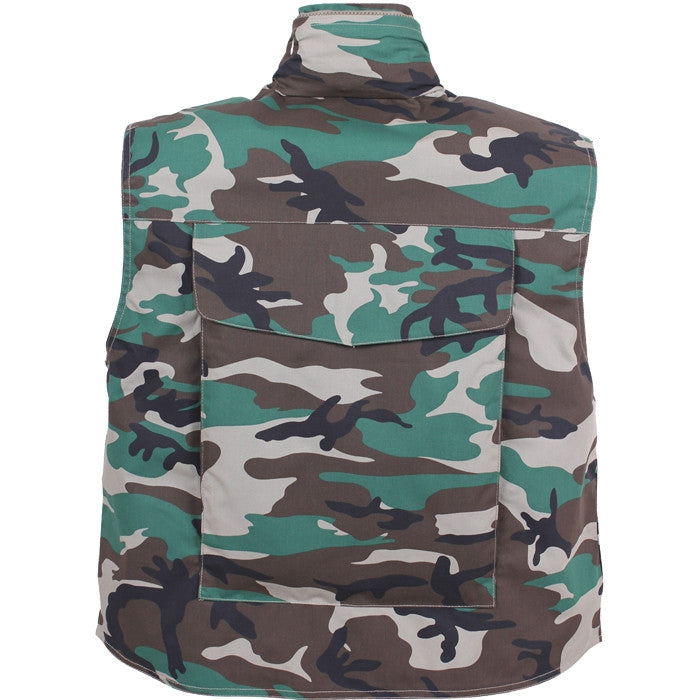 Woodland Camouflage - Tactical Outdoor Military Ranger Vest