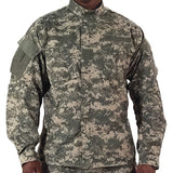 ACU Digital Camouflage - Military ACU Shirt - Polyester Cotton Ripstop