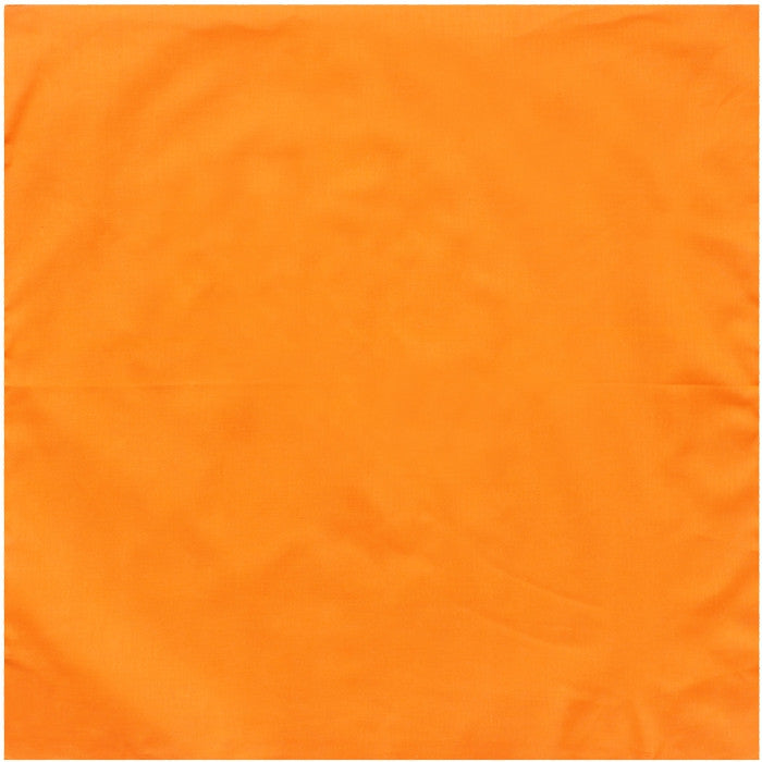 Blaze Orange - Jumbo Solid Color Bandana 27 in. x 27 in. - Army Navy ... 20d1159d10c