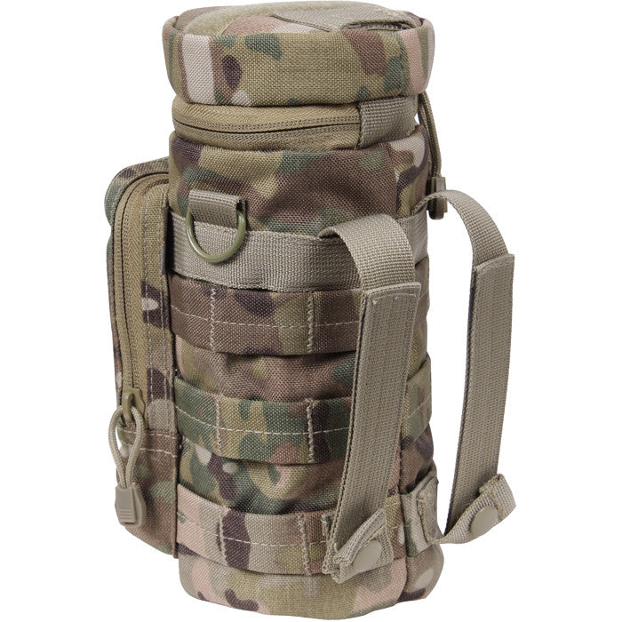 Multicam Camouflage - MOLLE Compatible Water Bottle Pouch