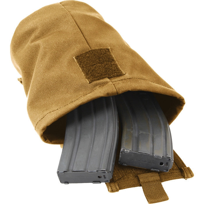 Coyote Brown - Tactical MOLLE Roll Up Utility Dump Pouch