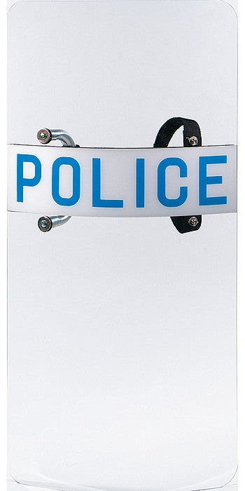 Clear - Law Enforcement POLICE Anti-Riot Protective Shield