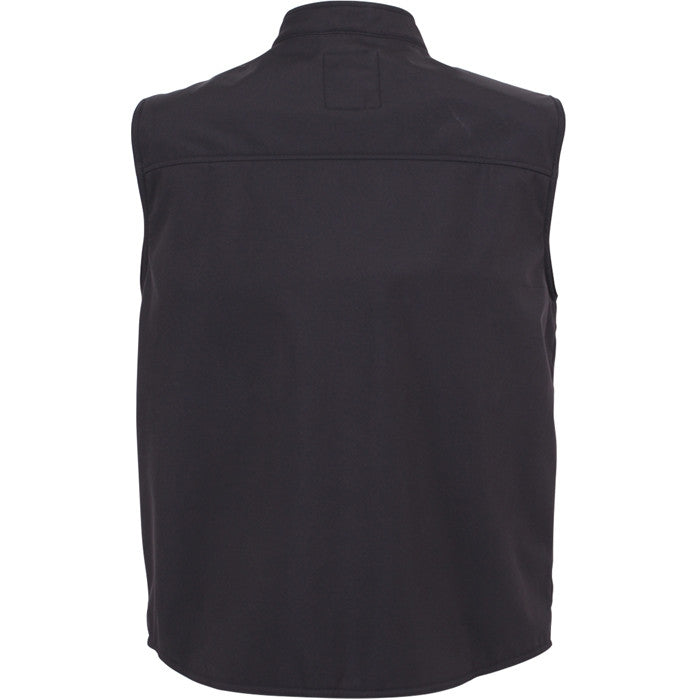 Black - Concealed Carry Soft Shell Vest