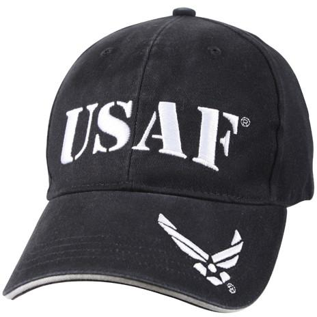 Navy Blue - Vintage Low Profile USAF Adjustabe Baseball Cap