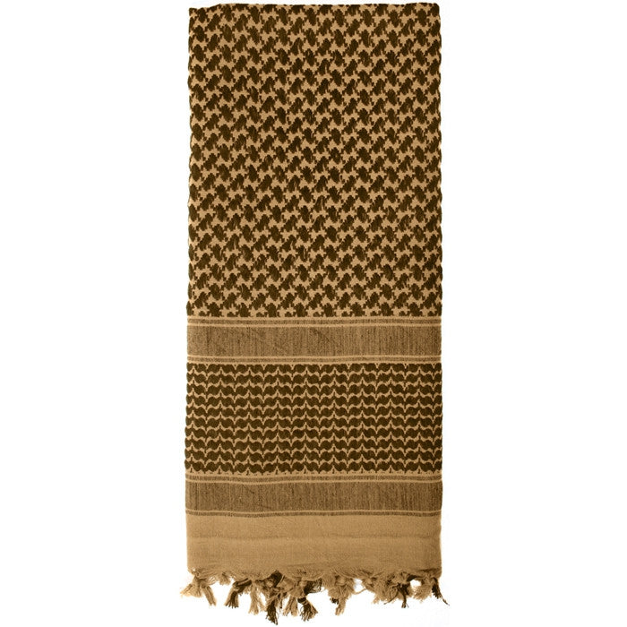 Coyote Brown - Lightweight Tactical Desert Shemagh Scarf