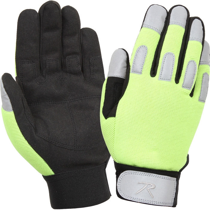 Safety Green - Lightweight All Purpose Tactical Duty Gloves