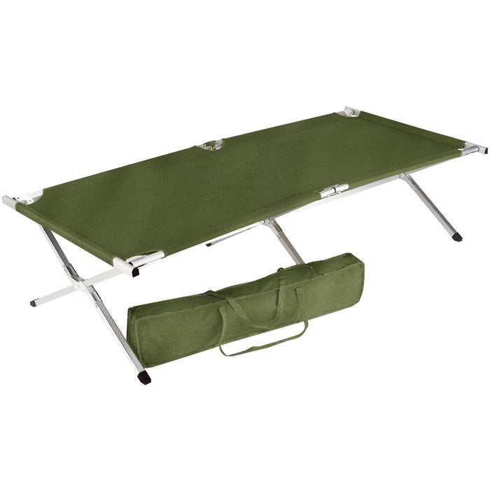 Olive Drab - GI Type Deluxe King Size Folding Cot