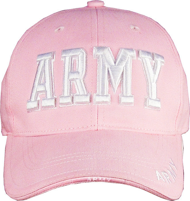 Pink - ARMY Deluxe Adjustable Cap