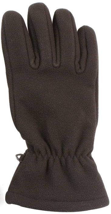 Black - Mirco Fleece All Weather Water Resistant Gloves