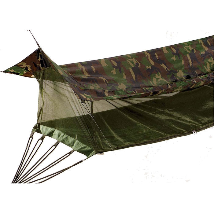 Woodland Camouflage - Military Style Outdoor Jungle Hammock