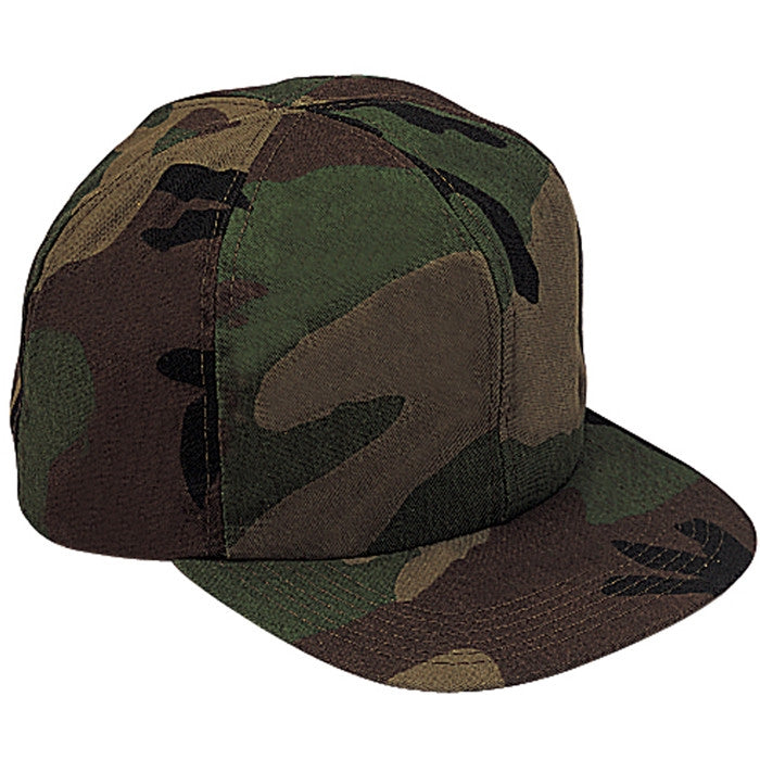 Woodland Camouflage - Kids Military Adjustable Baseball Cap