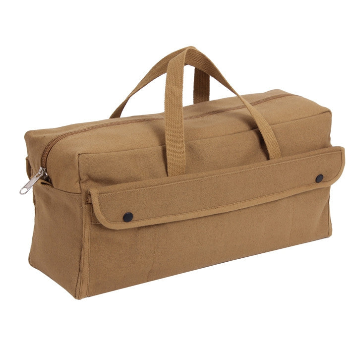 Coyote Brown - Jumbo Mechanics Tool Bag - Cotton Canvas