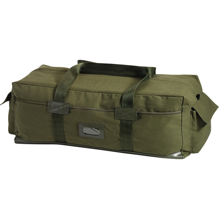 Olive Drab - Israeli IDF Tactical Duffle Carry Bag 34 in. x 15 in. x 12 in. - Canvas